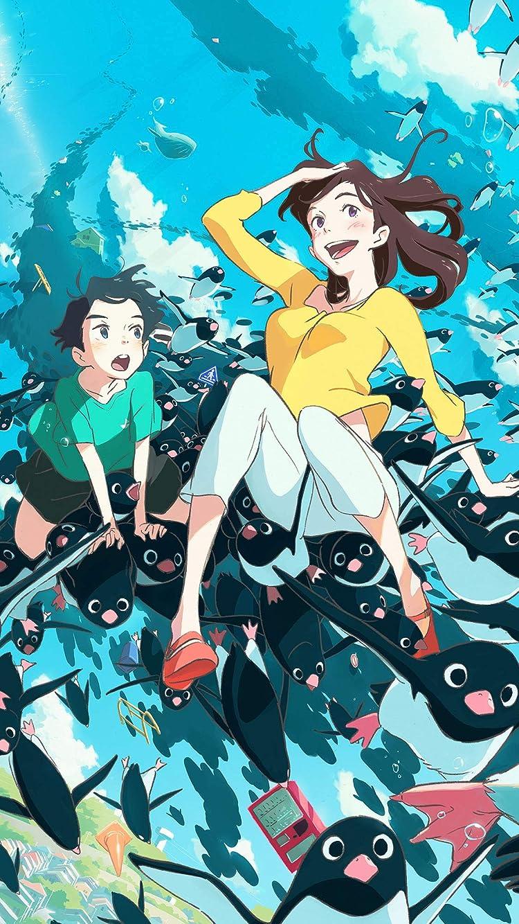ペンギン・ハイウェイ アオヤマ , お姉さん iPhone8/7/6s/6(750×1334)壁紙画像