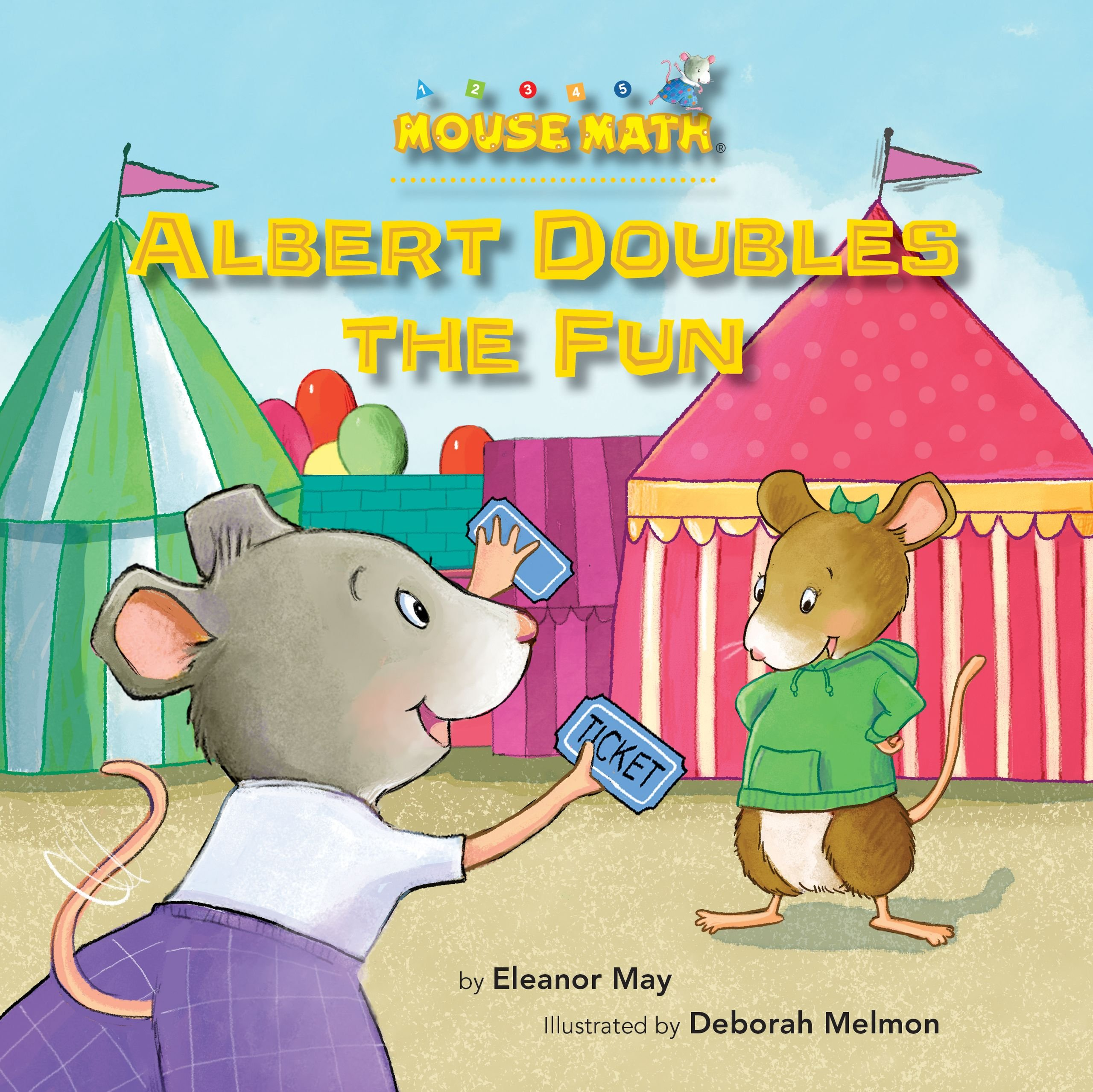 Albert Doubles the Fun: Adding Doubles (Mouse Math) PDF