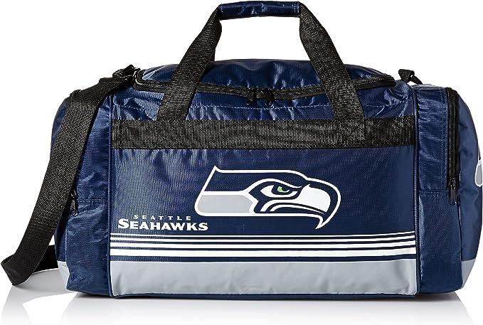 Seattle Seahawks Border Stripe Duffle Bag