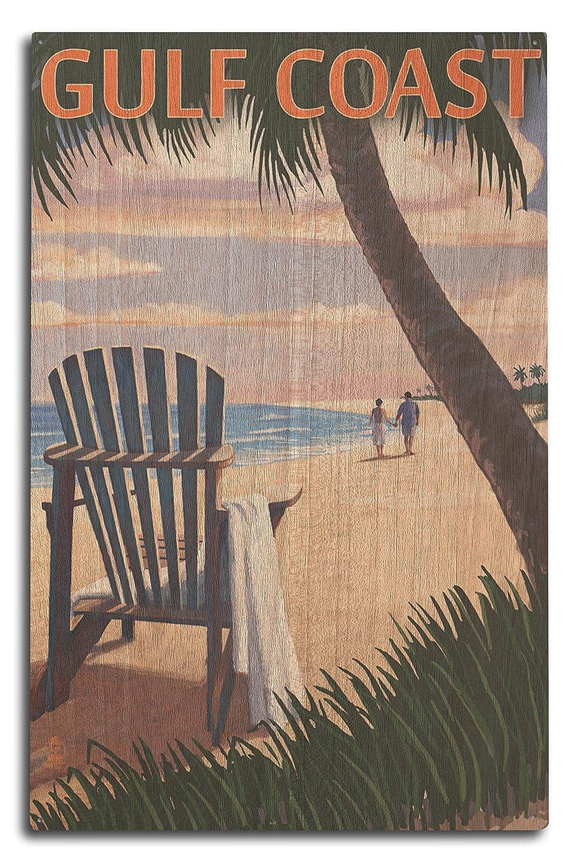 ベストセラー Gulf Coast – アディロンダック椅子とサンセット 12 x Wood Wood 18 Metal Sign Sign LANT-54048-12x18M B0736767PP 10 x 15 Wood Sign 10 x 15 Wood Sign, GRAMOROUS:97d585eb --- 4x4.lt