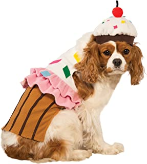 Rubies Costume Cupcake Dog Costume  sc 1 st  Amazon.com & Amazon.com : Rubieu0027s Banana Split Ice Cream Sundae Dog Costume X ...