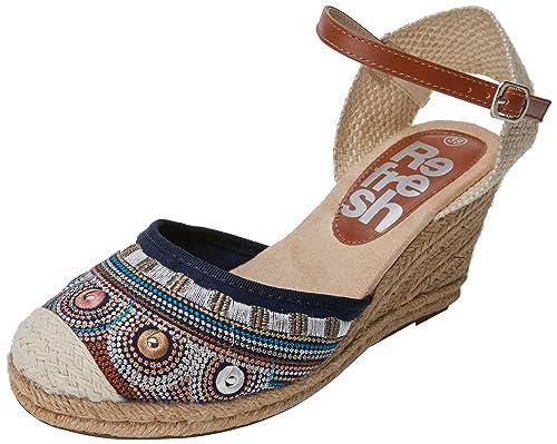 Refresh 64248, Sandalias con Punta Cerrada para Mujer: Amazon.es: Zapatos y complementos