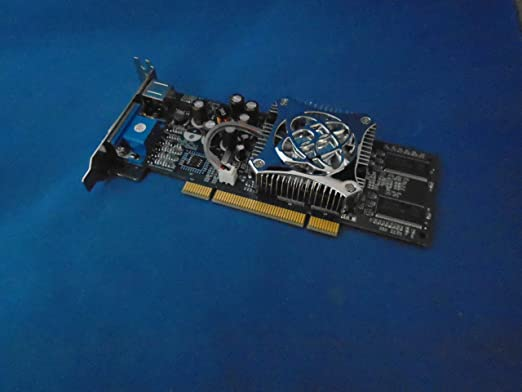 NVIDIA GeForce FX5200 128 MB tarjeta gráfica PCI de perfil ...