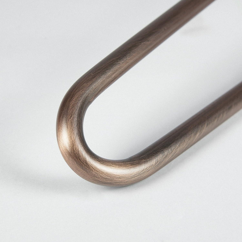 alle Gr/ö/ßen Schwarz 4x Natural Goods Berlin Hairpin Leg Tischbeine |12mm Stahl viele Farben 45cm//2 Streben