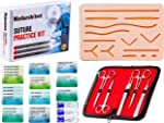 Suture Practice Kit (30 Pieces) for Medical Student Suture Training, Include