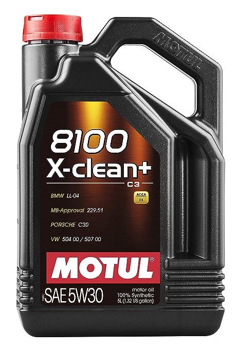 MOTUL Lubricante para Motor 11113941, 8100 X-Clean + 5W30, ...