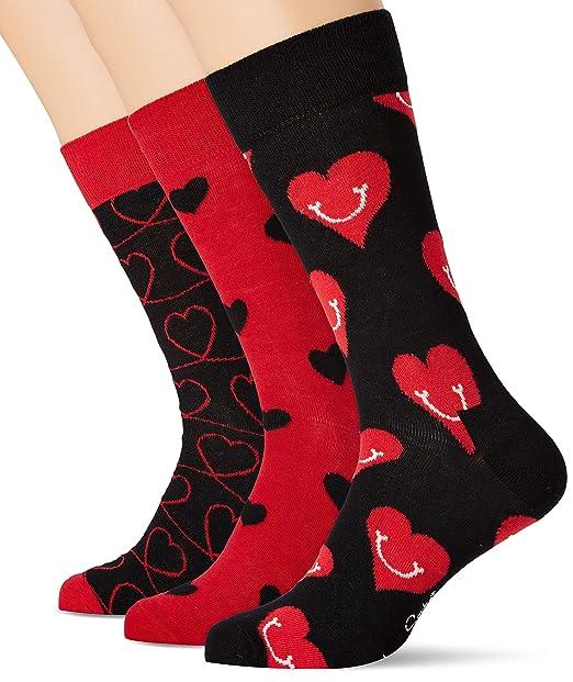 3erPack Happy Socks Herren I Love You Gift Box Socken,
