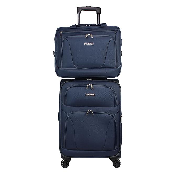 Amazon.com: World Traveler Embarque - Juego de equipaje de 2 ...