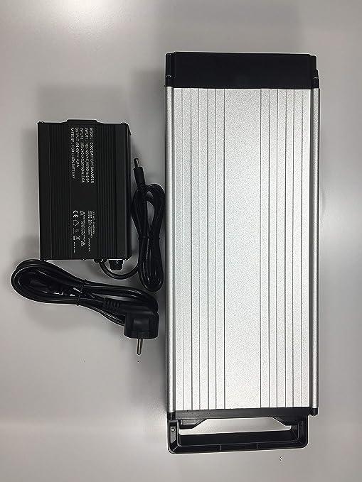 Batería de litio de 48 V 20 Ah con cargador de 4 A, batería eléctrica de alta potencia de 48 V 1500 W, batería de bicicleta eléctrica de 48 V 20 Ah ...