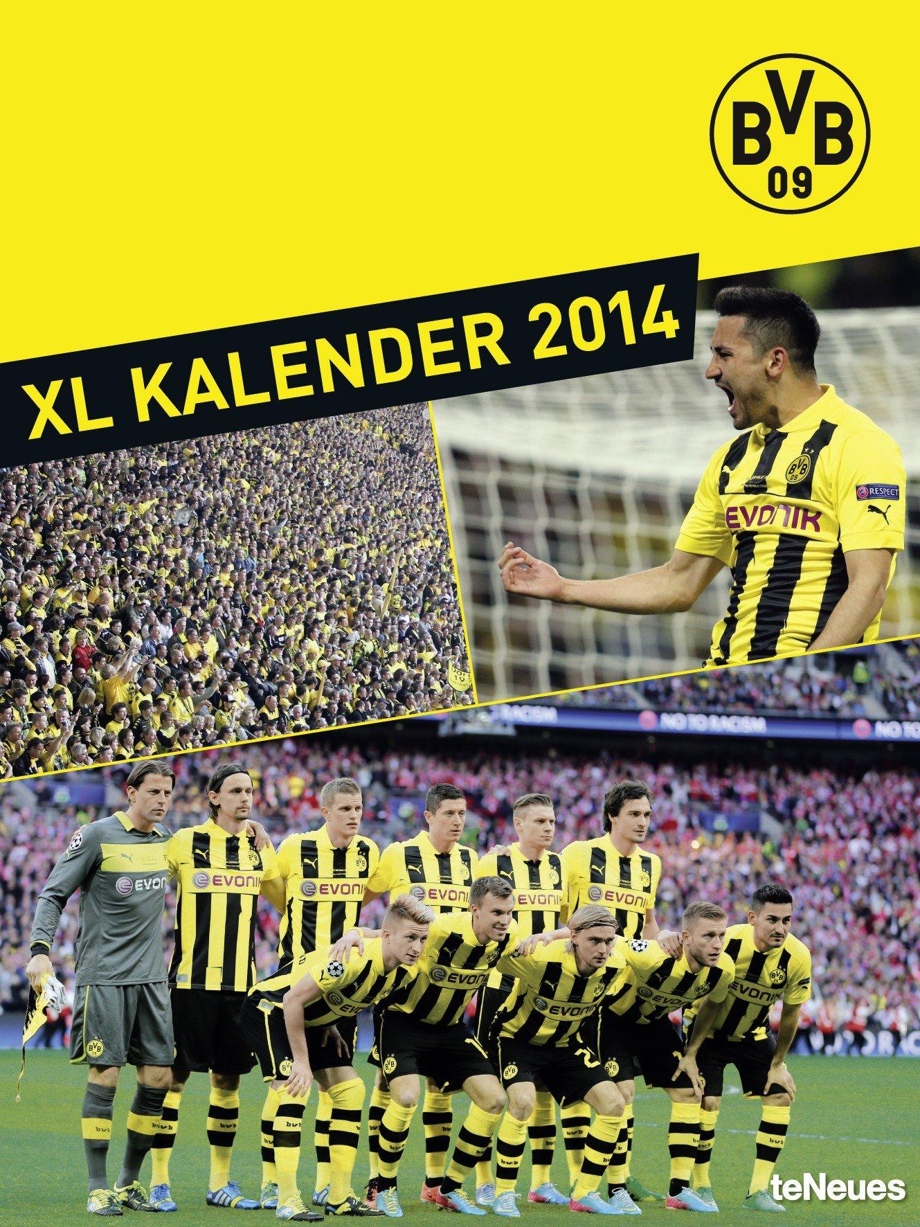 Borussia Dortmund Posterkalender 2014: Amazon.de: Bücher