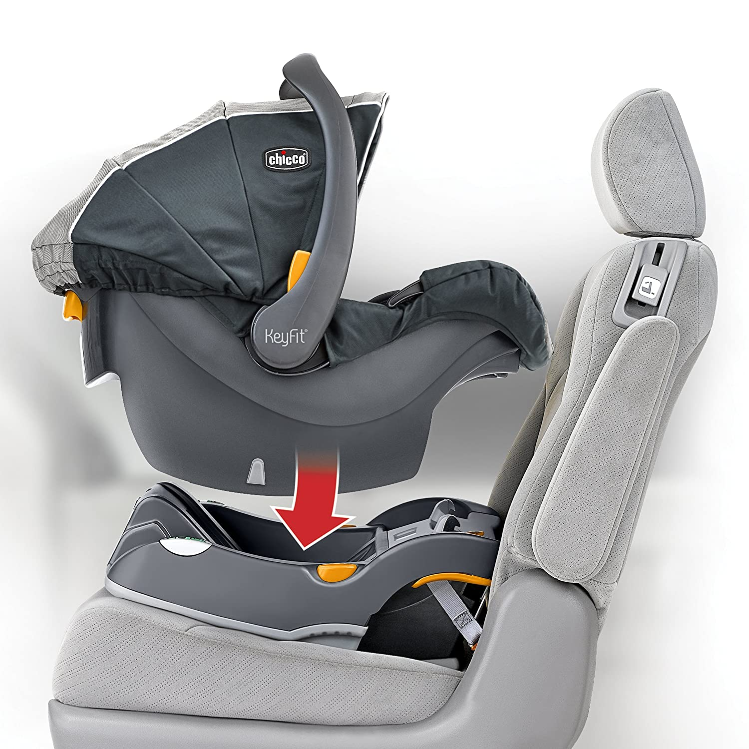 car seat base	  Amazon.com : Chicco KeyFit Infant Car Seat Base, Anthracite : Baby