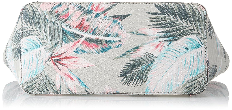 Guess Hobo, Borsa a Spalla Donna, Multicolore (Palm), 15x26