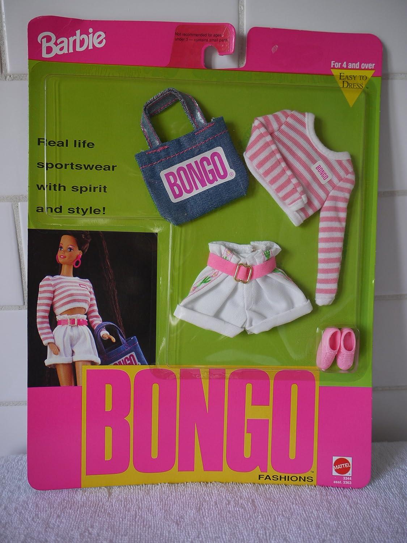 Barbie Bongo Easy to Dress Fashion 3344 (1992) by Barbie