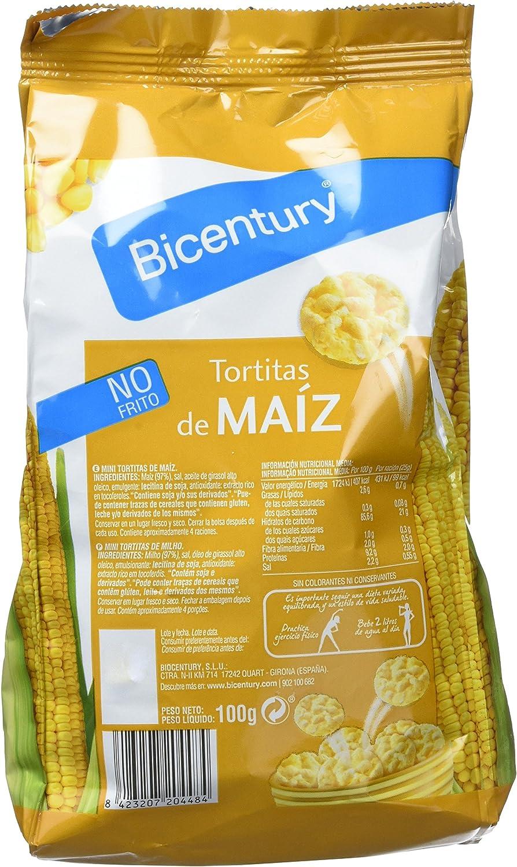 Bicentury Mini Tortitas de Maíz - 100 gr: Amazon.es ...