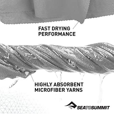 Erwachsene Bergsteigen und Trekking Sea to Summit Airlite Towel X-L Handtuch Unisex