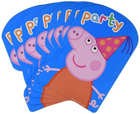 Amscan - Invitaciones de fiesta 8 Count tarjeta postal ...