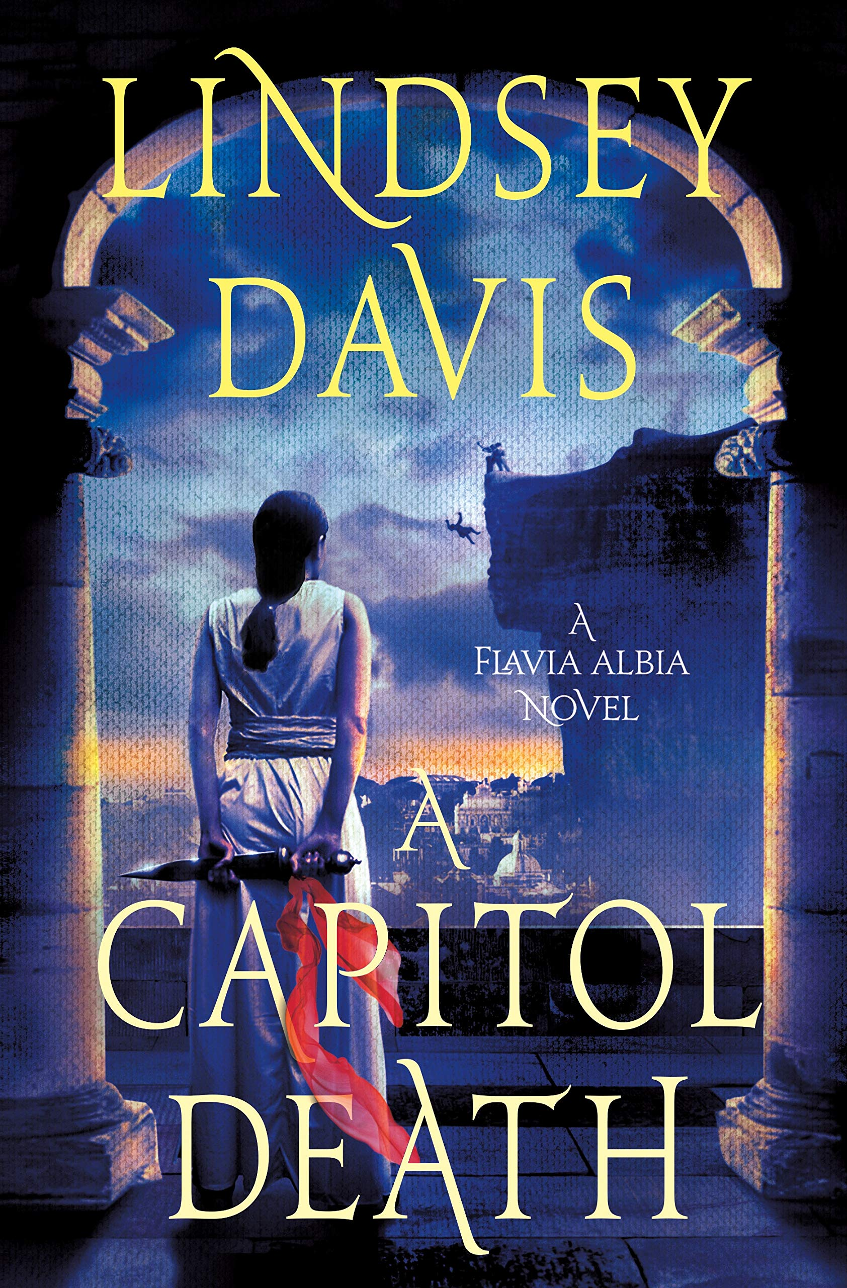 bd0cc53f1ee8 A Capitol Death: A Flavia Albia Novel (Flavia Albia Series): Lindsey ...