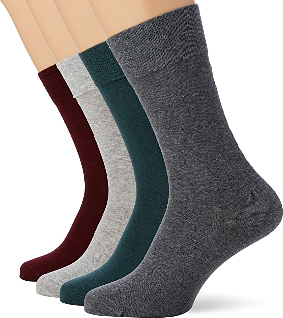 Lacoste Underwear M-socks (4-pack) Calcetines, Multicolor ...