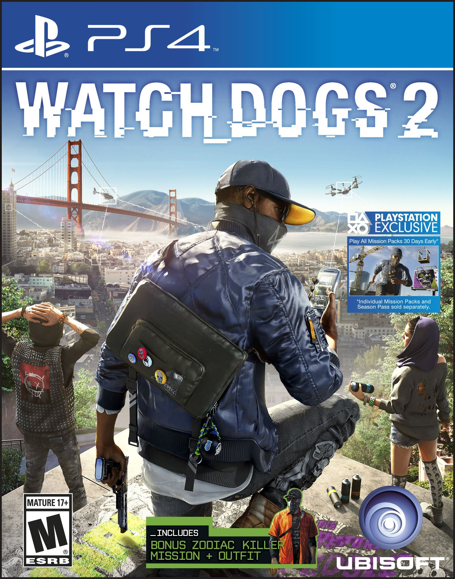 Watch Dogs 2 0887256022884