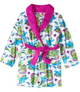 My Little Pony Movie Bathrobe For Toddler Girls Fleece Faux Fur Robe