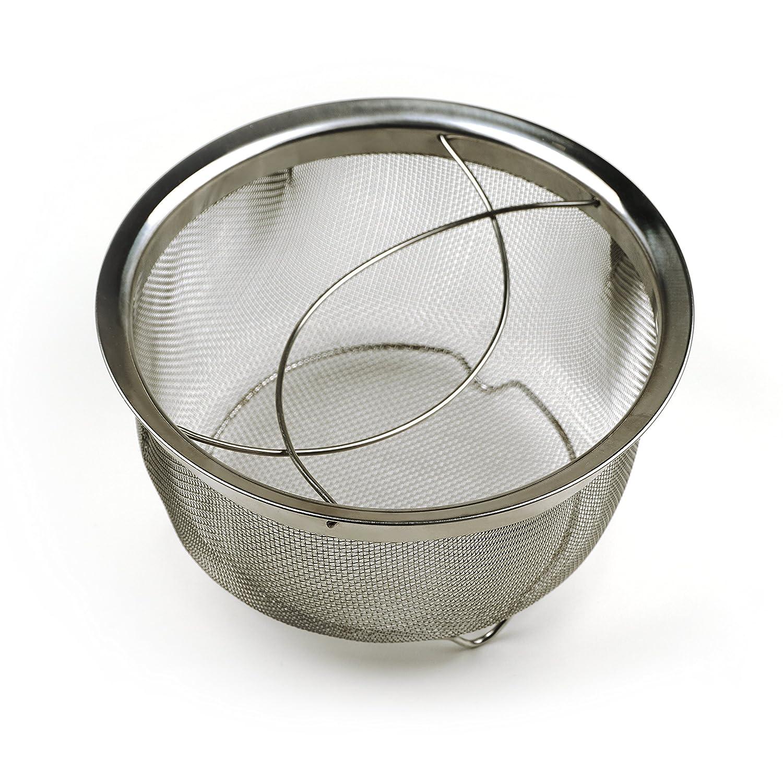 RSVP Endurance M8-FH Mesh Basket with Folding Handles, 3-Quart 4335487670