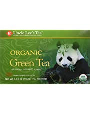 Uncle Lee's Tea Legends of China Organic Green Tea, 100 Count