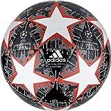 adidas Balón Fútbol Finale 18 Capitano, Color Negro/Blanco