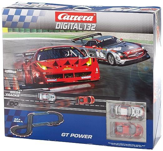 carrera digital 132  : Carrera Digital 132 GT Power Race Set: Toys & Games