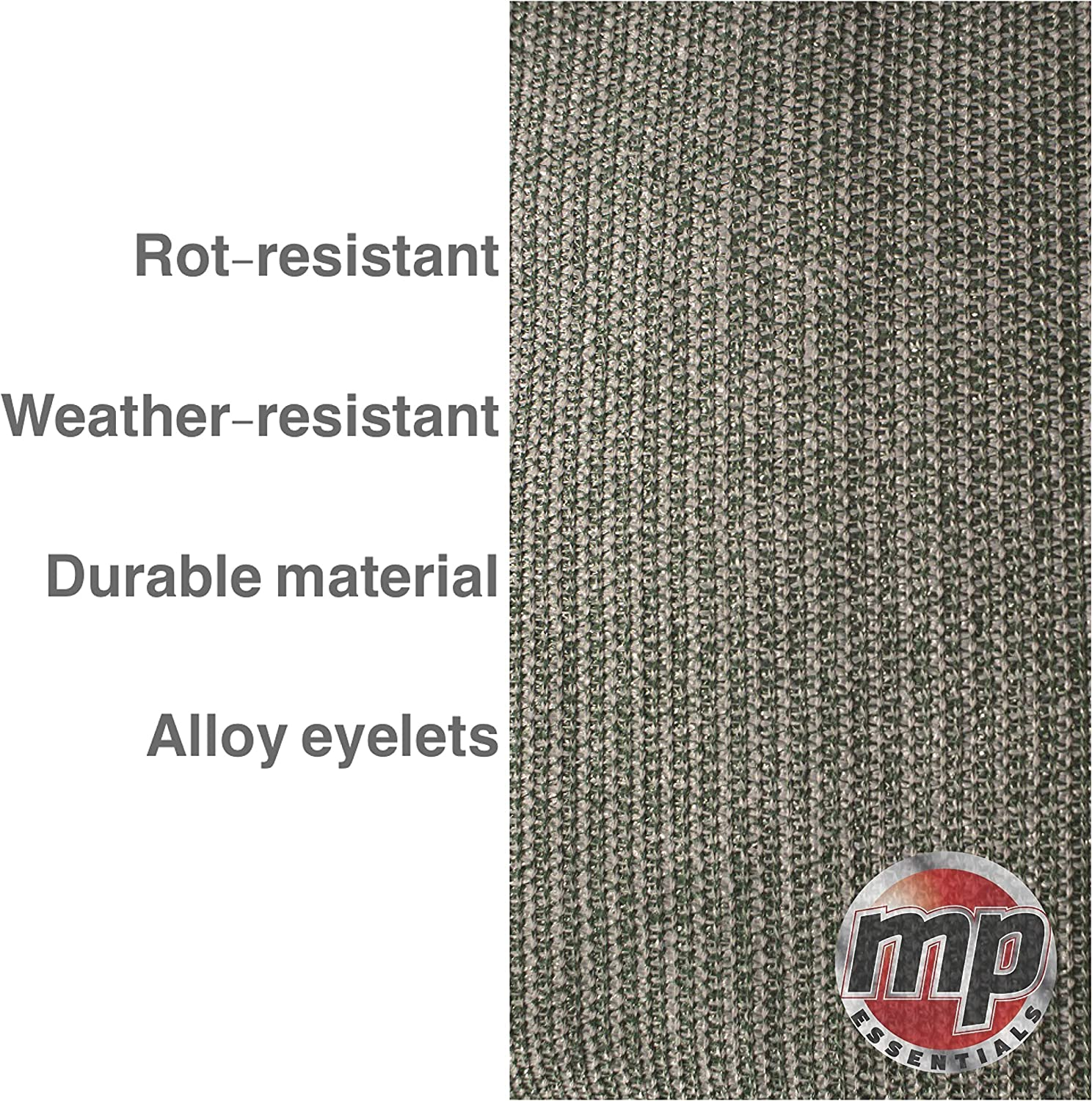 MP Essentials Weaved Supreme Rot Weatherproof Ground Covering Groundsheet Tent /& Awning Carpet GREEN /& GREY