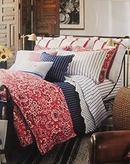 Amazon.com: Ralph Lauren Home Deauville Blossom Print King ...