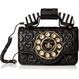 Amazon.com: Betsey Johnson Answer Me - Bolsa para teléfono ...