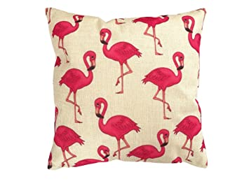 Kissenbezug Kissenhüllen Dekokissen 100/% Baumwolle Flamingos 12 Maße