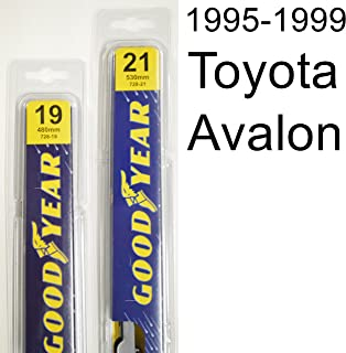 """product image for Toyota Avalon (1995-1999) Wiper Blade Kit - Set Includes 21"""" (Driver Side), 19"""" (Passenger Side) (2 Blades Total)"""