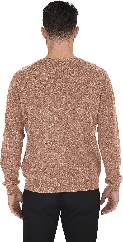 New Mens Basic Vee Neck V-Neck Long Sleeve 100/% Cashmere Sweater