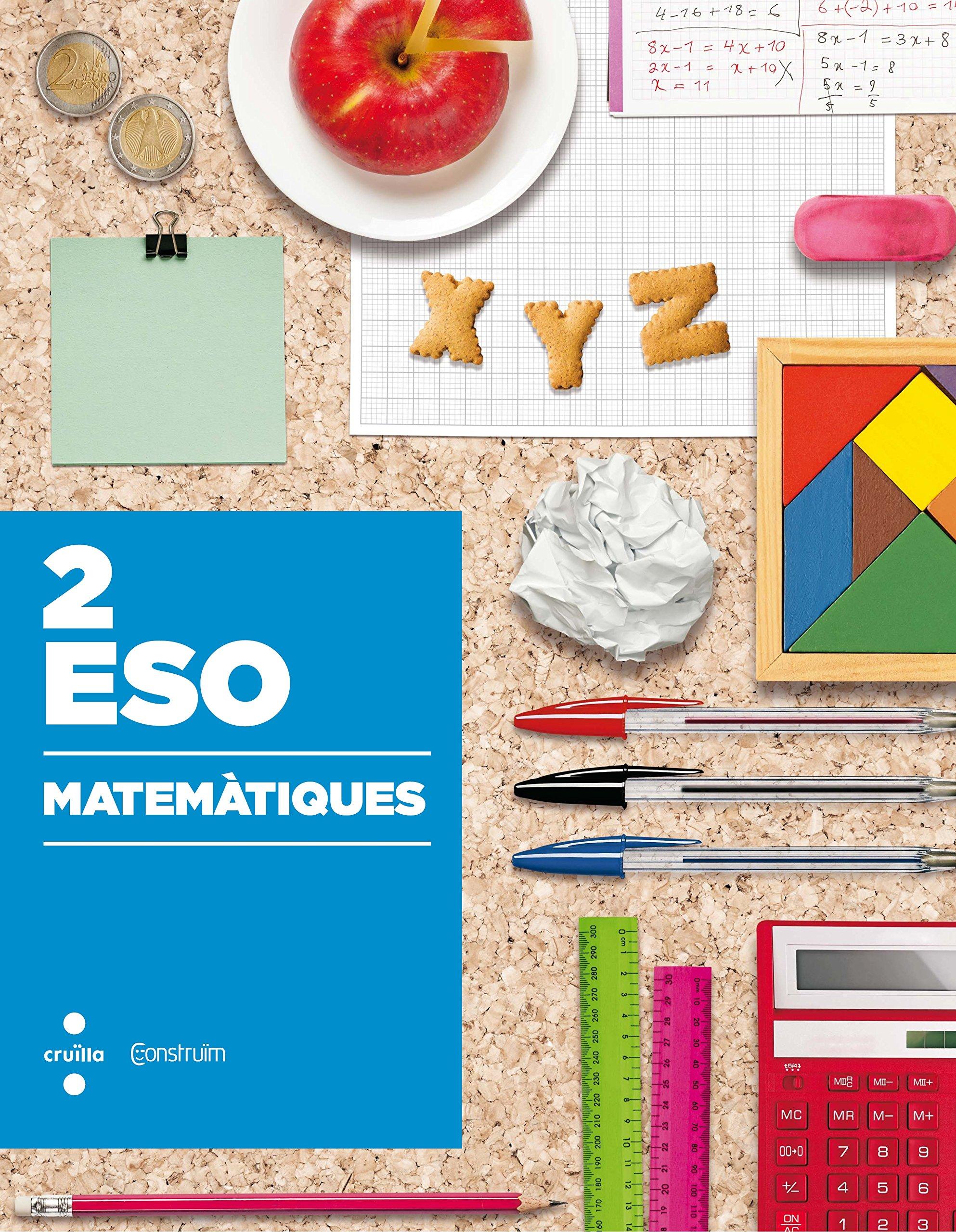 Matemàtiques. 2 ESO. Construïm - 9788466140621: Amazon.es ...
