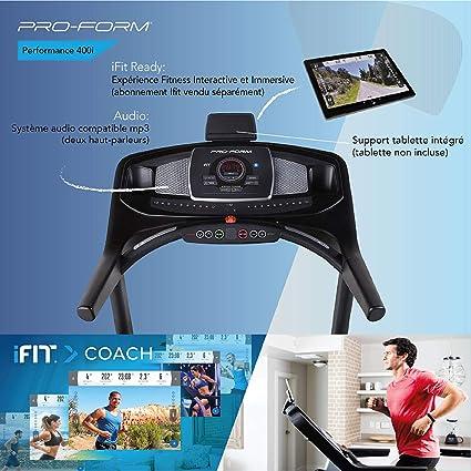 ProForm - Cinta de Correr Performance 400i: Amazon.es: Deportes y ...