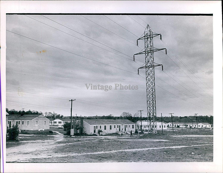 Vintage Photos 1965 Housing Development Public Ken Sturgeon grapher Homes Wires 6X8