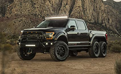 Amazon.com: Ford VelociRaptor 6x6 by Hennessey (2018) Truck Print on ...