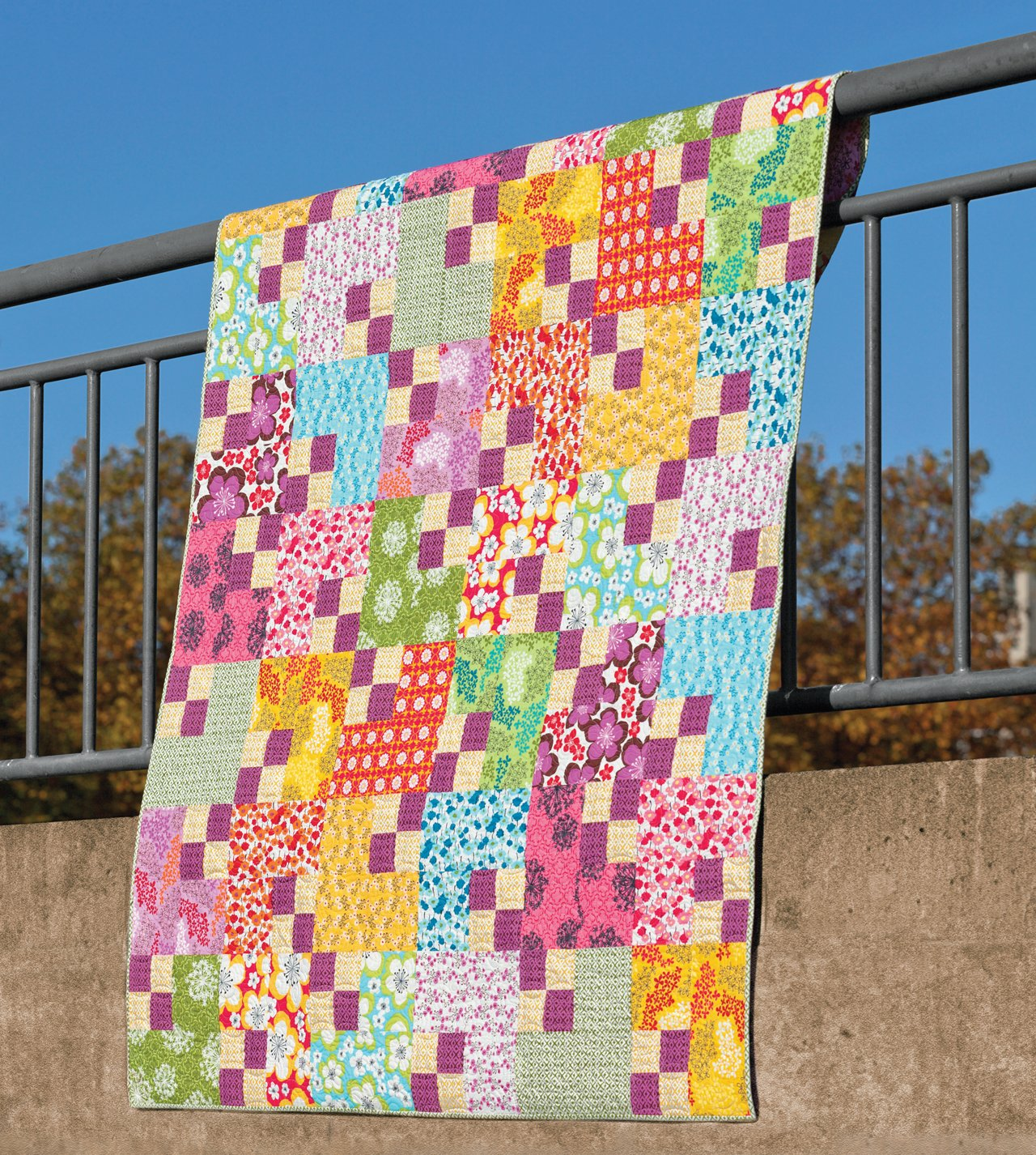 Skip the Borders: Easy Patterns for Modern Quilts: Julie