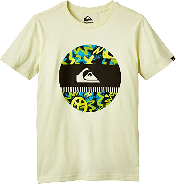 Quiksilver Classic Disco Biscuit Camiseta para Niños: Amazon.es: Ropa y accesorios