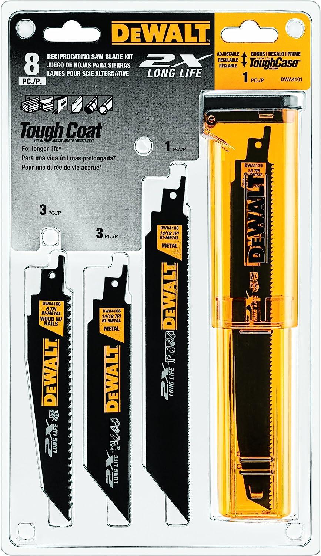 "100 Pack  14//18 TPI  Bi Metal 9/"" Sawzall Blades for Metal"