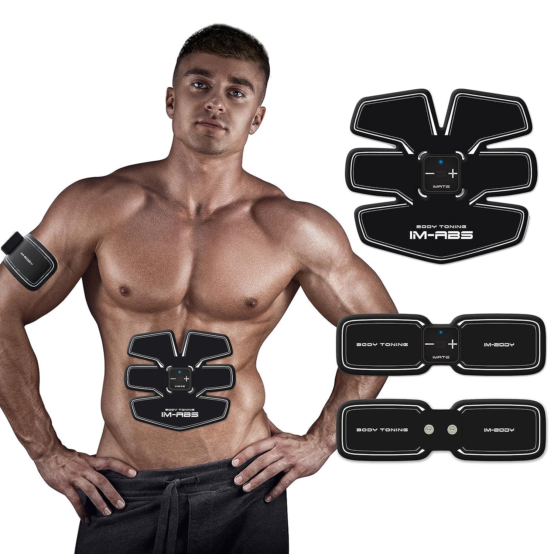 Electroestimulador Masajeador Electrodo Ejercitador del Cuerpo para el Entrenamiento de los Músculos