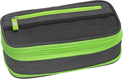 Wedo 24244066 Neon Stretch - Estuche, color gris/verde: Amazon.es: Oficina y papelería