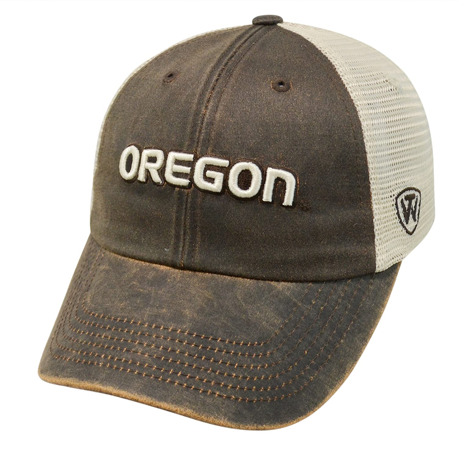 Amazon.com   Top of the World Oregon Ducks NCAA Scat Mesh Adjustable Slouch  Hat   Sports   Outdoors a85c6080bddd