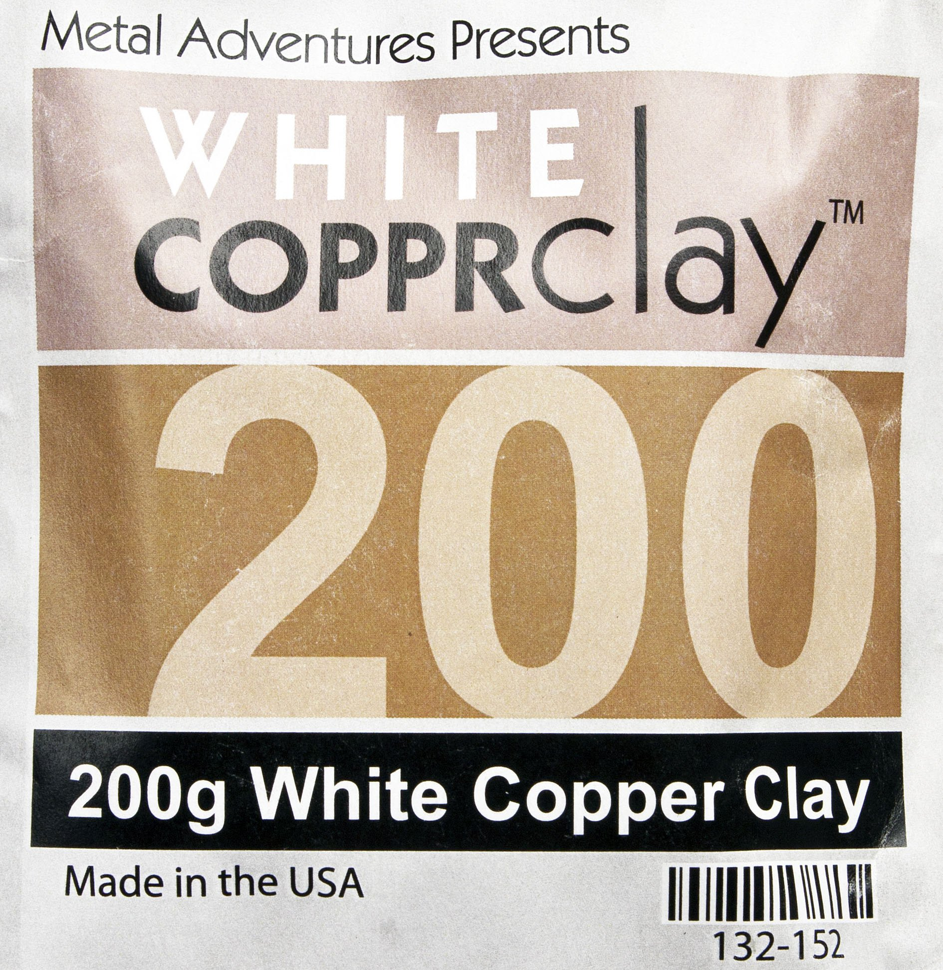 White COPPRclay - 200 Grams by White COPPRclay (Image #1)