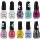 Sinful Colors Finger Nail Polish Color Lacquer Set 10-Piece Collection (Shine)