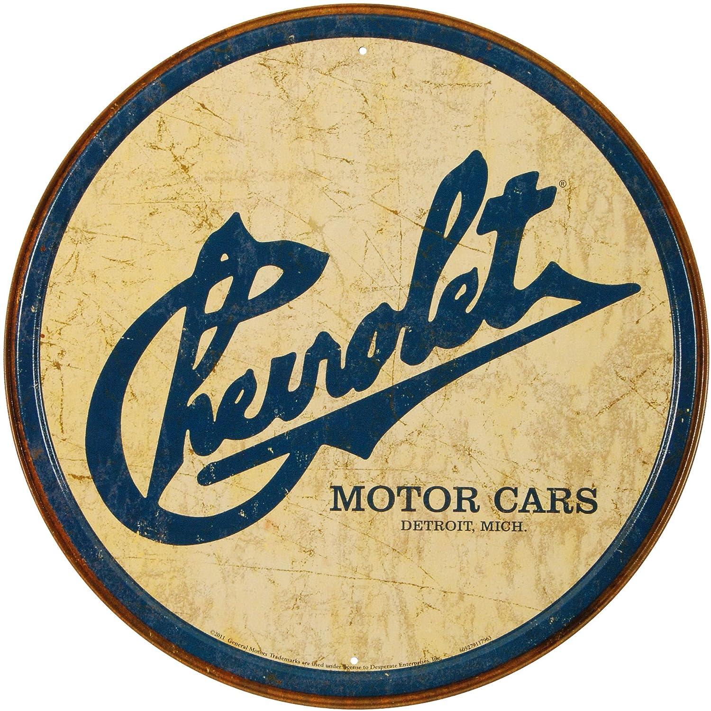 Amazon.com: Chevy Historic Logo Tin Sign 12 x 12in: Home & Kitchen