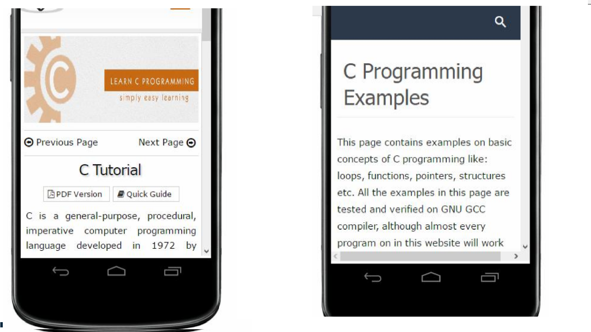 Amazon com: C Programming Examples Programming: Appstore for Android