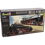 Revell - 02158 - Modélisme Ferroviaire - Locomotive BR 01 & Br 02