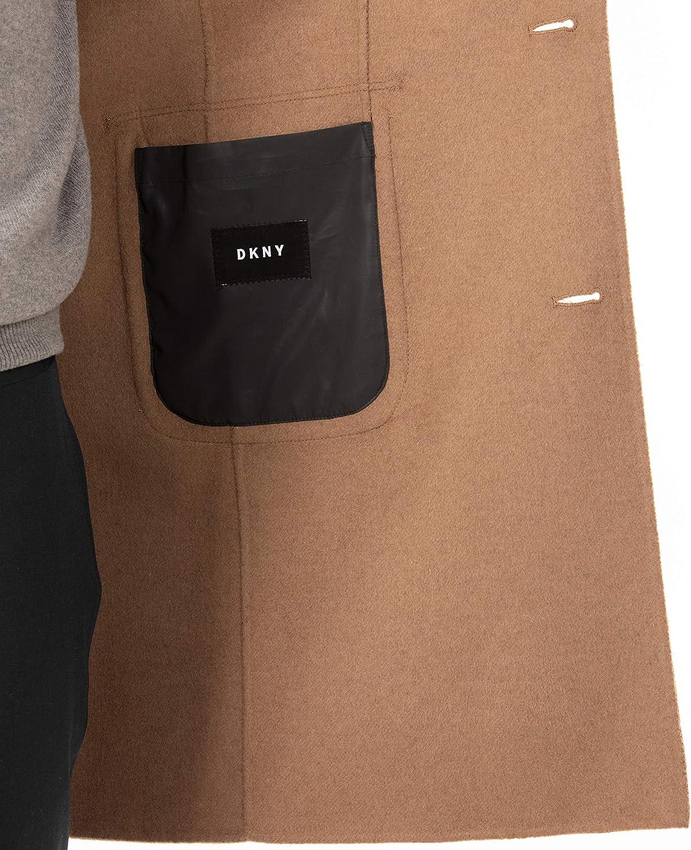 DKNY Mens Regular Overcoat